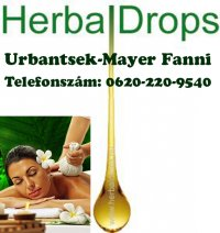 Herbal drops masszázs