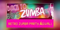 Retroo Zumba Party Ágival!  Szeptember 23.   18:00-20:00